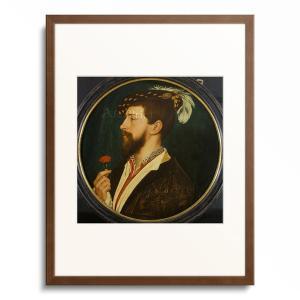 ハンス・ホルバイン(子) Hans Holbein der Jungere 「Portrait of...