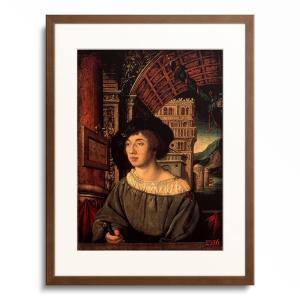 アンブロジウス・ホルバイン Ambrosius Holbein 「Bildnis eines Man...