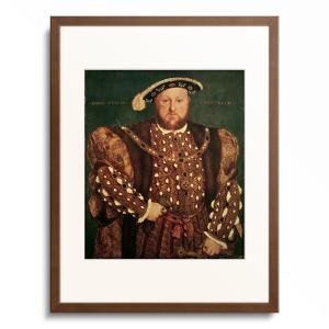 作家名: ハンス・ホルバイン(子)  ( 1497年頃 - 1543年頃 )  タイトル:「ヘンリー...