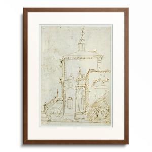 Canaletto (Giovanni Antonio Canal) 1697-1768.  A M...