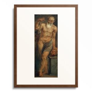 "Rubens, Peter Paul 1577-1640.  ""Satyr"", c. 1636/38..."