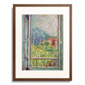 """Bonnard, Pierre. 1867-1947.  """"La petite fenetre ou..."""
