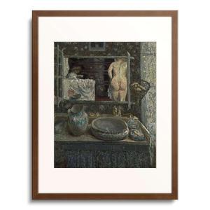 ピエール・ボナール Pierre Bonnard 「風呂場の鏡」