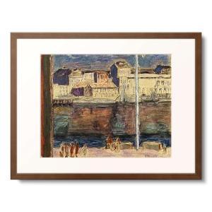 ピエール・ボナール Pierre Bonnard 「Der Hafen von St.Tropez....