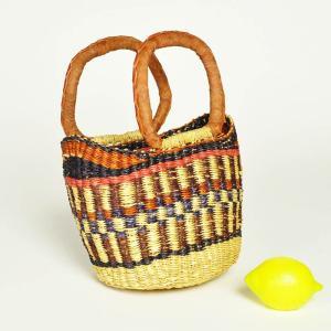 ●ブルキナバスケット(アフリカ かご カゴバッグ)Variante mini|afromode