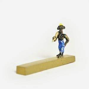 ○ペーパーウェイト(文鎮)人形|afromode