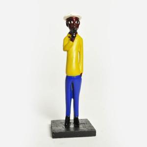 ●アフリカコロン人形 mini|afromode