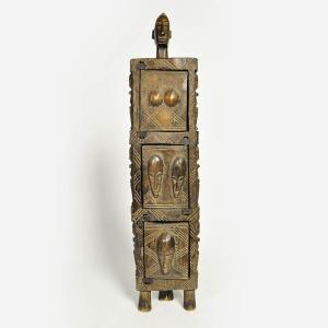 ◎ドゴン族の薬箱(アフリカ インテリア 雑貨 エスニック 木彫り 置物 小物 木像)|afromode