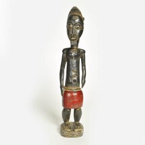 ◎バウレ族彫像(アフリカ インテリア 彫刻 木彫品)|afromode