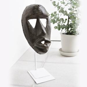≪アフロX'mas SALE 20%OFF≫◎ダン族マスク(アフリカの仮面 アート エスニック インテリア)|afromode