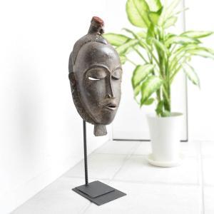 ≪アフロX'mas SALE 20%OFF≫◎ヤウレ族マスク(アフリカの仮面 アート エスニック インテリア)|afromode