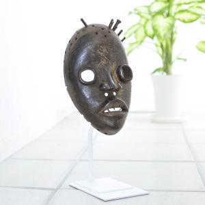 ≪アフロX'mas SALE 20%OFF≫◎ダン族マスク(アフリカ 仮面)|afromode