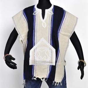 ●セヌフォ族 ポンチョ シャツ≪アフリカ エスニック ファッション 民族衣装≫|afromode