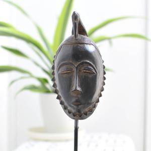 ヤウレ族パスポートマスク(アフリカ アート 仮面 インテリア)|afromode
