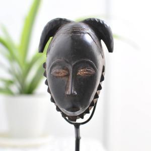 ●ヤウレ族パスポートマスク(アフリカ アート 仮面 インテリア)|afromode