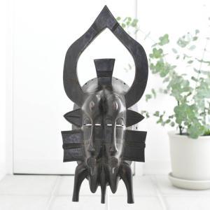 ≪アフロX'mas SALE 20%OFF≫◎セヌフォ族マスク(アフリカ アート 仮面 インテリア)|afromode
