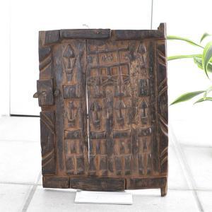 ≪アフロX'mas SALE 20%OFF≫◎ドゴン族の扉 小サイズ(アフリカ インテリア 家具)|afromode