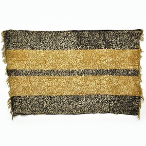 泥染め 手織り 布 ≪ボゴラン パーニュ アフリカ インテリア ファブリック≫|afromode