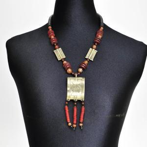 《アフロファッションフェア20%》アフリカ ネックレス (エスニック ファッション アクセサリー )|afromode