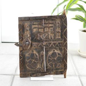《アフロサマーセール対象》◎ドゴン族の扉 小サイズ(アフリカ インテリア 家具)|afromode
