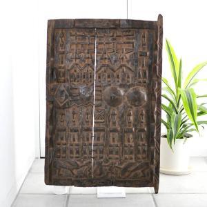 ≪アフロX'mas SALE 20%OFF≫◎ドゴン族の扉 (アフリカ インテリア 家具)|afromode