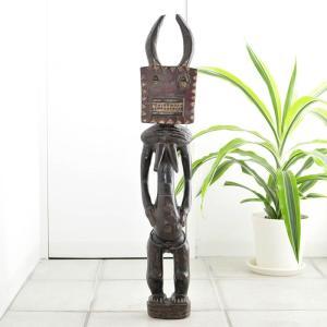 ◎バウレ族プレプレ像(アフリカ インテリア 彫刻 木彫品)|afromode