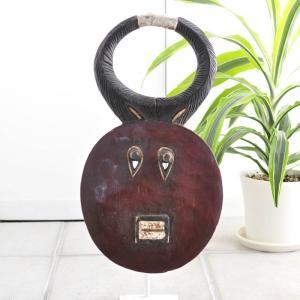 ≪アートフェア SALE 20%OFF≫◎バウレ族(プレプレ)マスク(アフリカ アート 仮面)|afromode