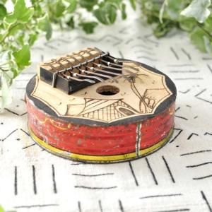 ●アフリカ トマト缶カリンバ afromode