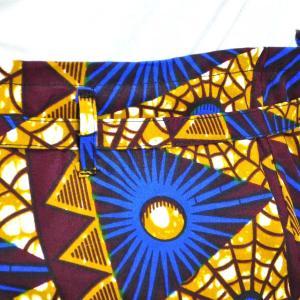 ≪23周年23%OFF!4/28まで≫○パッチワーク 腰巻きスカート (アフリカン パーニュ レディースボトムス)|afromode|05