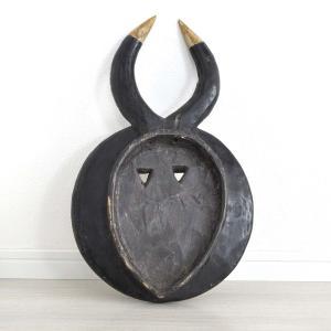 ≪23周年23%OFF!4/28まで≫◎バウレ族(プレプレ)マスク(アフリカンアート 仮面)|afromode|03