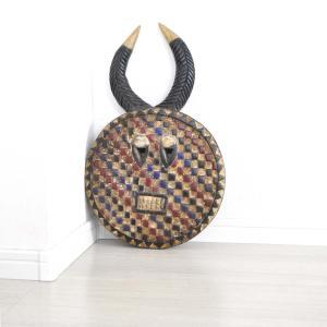 ≪23周年23%OFF!4/28まで≫◎バウレ族(プレプレ)マスク(アフリカンアート 仮面)|afromode|04