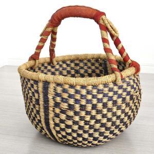 ◎ブルキナバスケット M(アフリカン カゴバッグ ボルガ)|afromode
