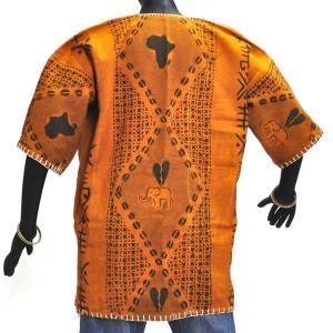≪23周年23%OFF!4/28まで≫●泥染め シャツ(ボゴラン アフリカ 民族衣装)|afromode|03