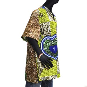 ≪23周年23%OFF!4/28まで≫○アフリカン スキッパーシャツ Lサイズ|afromode|02