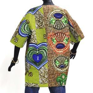≪23周年23%OFF!4/28まで≫○アフリカン スキッパーシャツ Lサイズ|afromode|03