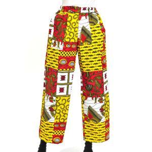 ○アフリカン ベイカー パンツ (メンズ ズボン ボトムス) afromode