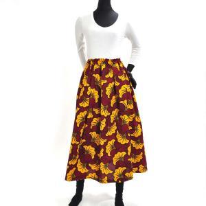 ≪ファッションフェア15%OFF!5/22まで≫○アフリカン スカート (パーニュ ボトムス) afromode