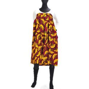 ≪ファッションフェア15%OFF!5/22まで≫○アフリカン スカート (パーニュ ボトムス) afromode 02