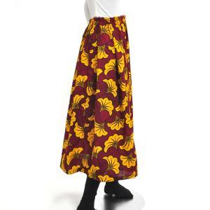 ≪ファッションフェア15%OFF!5/22まで≫○アフリカン スカート (パーニュ ボトムス) afromode 03