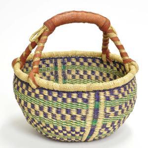 ◎ブルキナバスケット M(アフリカン カゴバッグ ボルガ) afromode