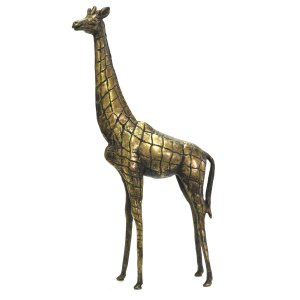 ●ブロンズ像 キリン(アフリカン アート)|afromode