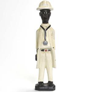 ◎コロン人形 33cm(アフリカ インテリア 彫刻)|afromode