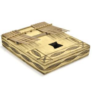 ◎木箱竹爪カリンバ(アフリカ 民族楽器)|afromode