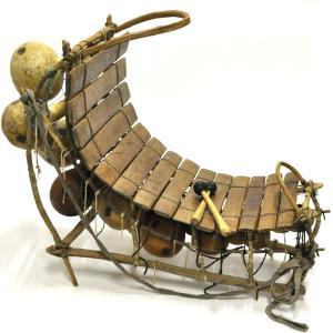 ■プロ仕様 ブルキナ 大型バラフォン≪アフリカの民族楽器≫ afromode