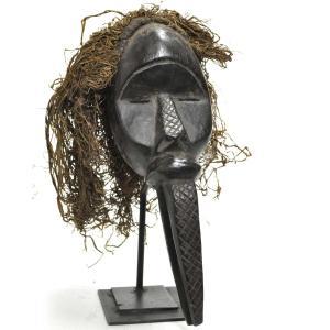 ●マノ族パスポートマスク(アフリカンアート 仮面)|afromode