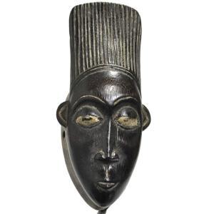 ◎バウレ族パスポートマスク(アフリカンアート 仮面)|afromode