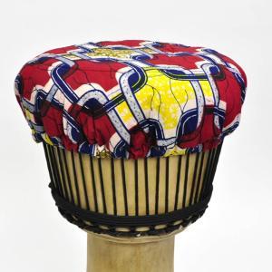 ○ギニア製 ジャンベ ヘッド カバー(キャップ)|afromode