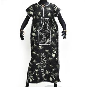 ○コットン ワンピース (アフリカン エスニック ファッション)|afromode