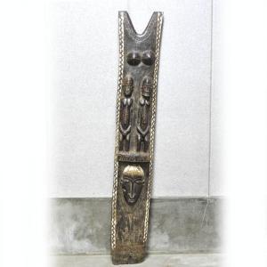 ≪アフロX'mas SALE 20%OFF≫■ドゴン族の柱(アフリカ 木彫品)|afromode