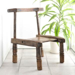 ≪Spring SALE!3/26まで≫◎バウレ族の椅子(アフリカの腰掛け スツール)|afromode